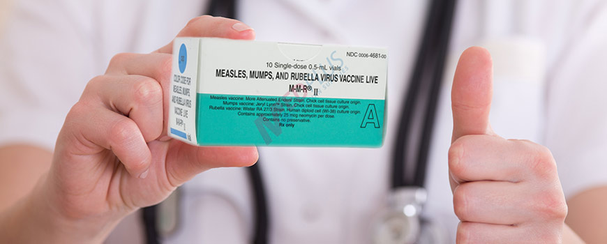 Вакцина MMR II против кори-краснухи и паротита